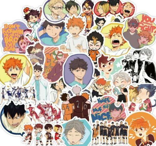 10pcs Haikyuu Stickers Anime Yu Tobin Kei Manga Characters Buy 2 Get 1 Free