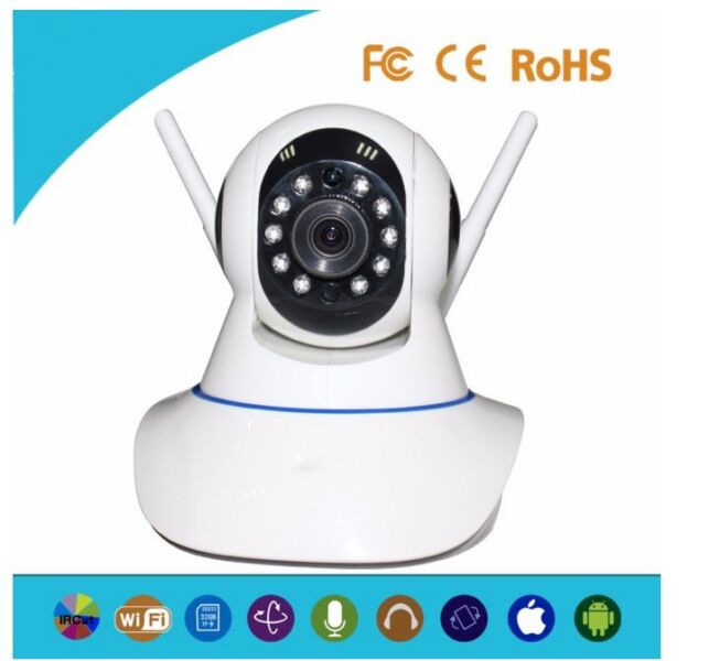 YYP2P Mobile Communication Indoor Wifi Smart Camera With Night Vision Alarm Function