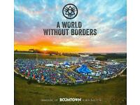 Boomtown festival tickets with return travel from sheffield and locker