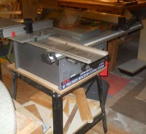 "10"" table saw with support"