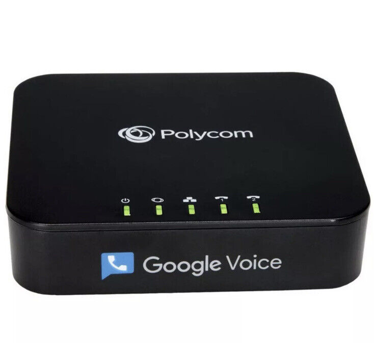 Polycom OBi212 2-Port VoIP Phone Adapter w/ Google Voice and Fax Support New