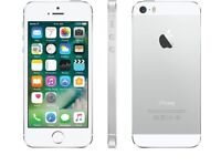 Excellent Condition APPLE iPhone 5s - 16GB,Unlocked. Silver. Like New