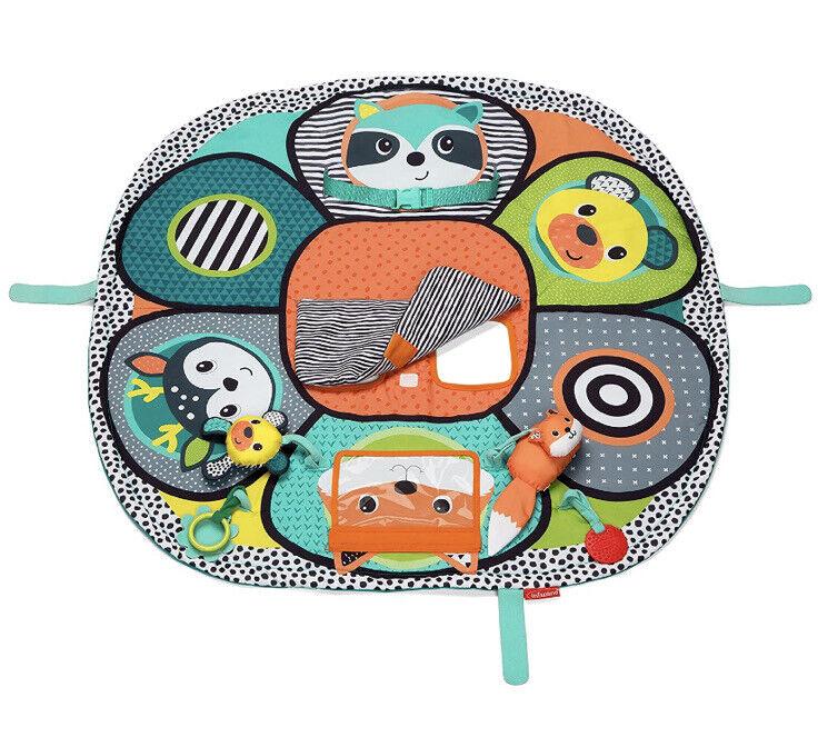 Infantino Play & Away Cart Cover & Play Mat Woodland NEW