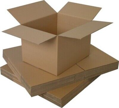 25 x A4 BRAND NEW SMALL MAILING PACKING CARDBOARD BOXES 12x9x7
