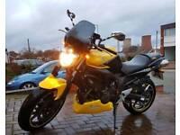 Yamaha FZ6 S2 Fazer 600cc Anniversary Yellow.