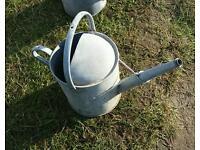Vintage watering can nice original galvanised can