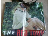 Taylor Swift Red Tour Tote Bag BRAND NEW