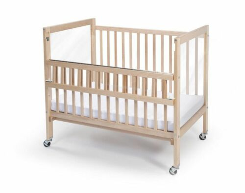 Whitney Brothers Infant ClearView Crib with Teething rail  Folding WB9507