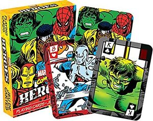 Marvel Heroes set of  playing cards (nm 52324)
