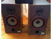 Bowers and Wilkins B&W DM110 speakers (pair)