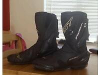 RST TracTech Motorcycle boots size 10.5