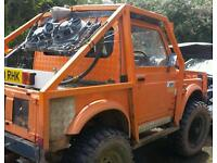 One off build 4x4 offroading truck