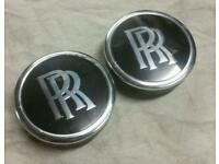*Genuine* Rolls Royce spinning wheel centre caps (DUB VAG Phantom)