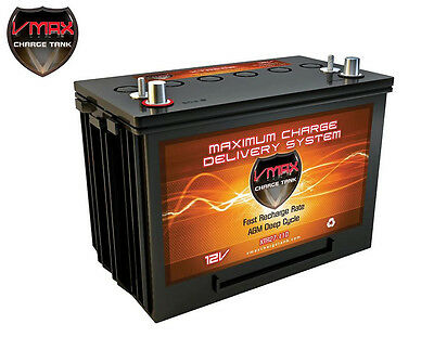 Vmax Xtr27-110 12 Volts 110ah Deep Cycle Xtreme Agm Battery For Pv Solar Panel