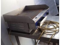 Commercial Electric griddle grill