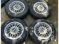 """X 4 14"""" BBS wheels"""