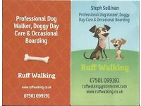 Ruff Walking, Professional dog walking in Gloucester