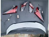 facelift tail lights and spoiler mk9 honda civic 12-17