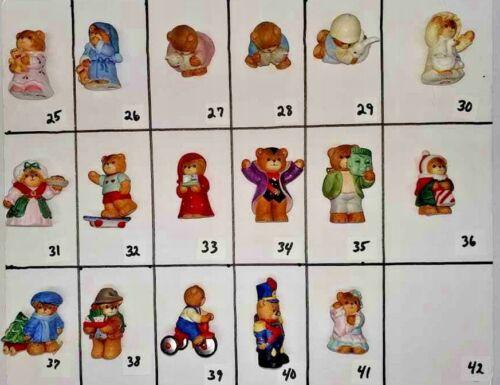 You Pick - Enesco Lucy Rigg Bears - Halloween, Christmas, skateboard, ducks tree