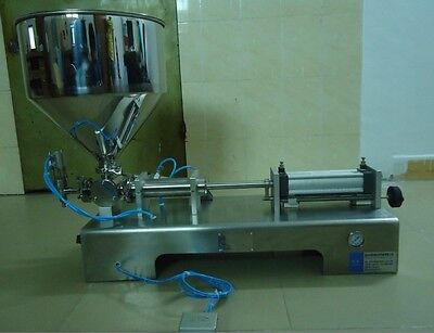 With Bottle Capper900-5000ml Automatic Cream Filling Machineoil Filler Machine
