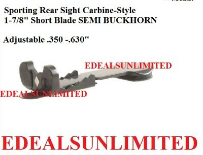 - Sporting Rear Sight Carbine-Style 1-7/8