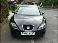 SEAT LEON 1.9 TDI BLACK .......not audi bmw golf gti fr 2.0