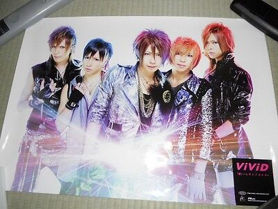 ViViD PSC Promo POSTER Visual-Kei ROCK JAPAN LIMITED!!!!