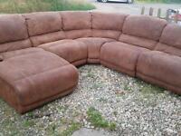 Harveys Recliner corner sofa.