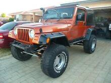2002 Jeep Wrangler Sport V8 Project Ocean Reef Joondalup Area Preview