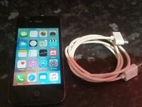 APPLE IPHONE 4S 16GB BLACK - EE / Orange / T-Mobile Network - SMARTPHONE MOBILE