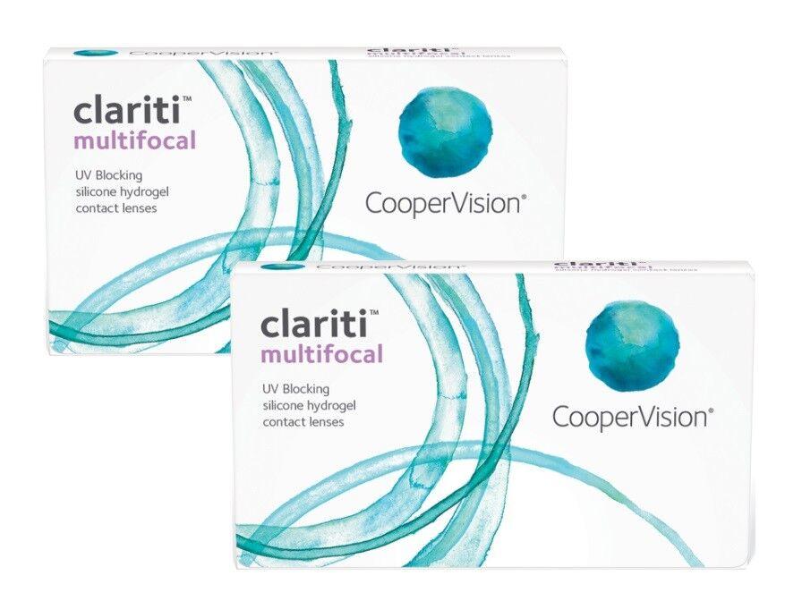 Clariti Multifocal 2x3 Kontaktlinsen - Monatlinsen von COOPER VISION