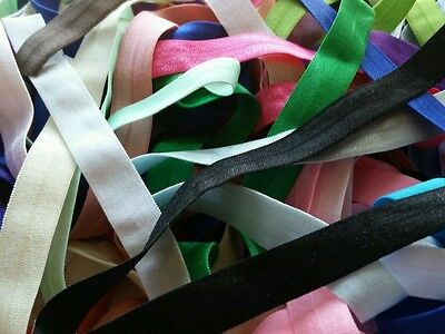 Grab Bag SOLID wholesale fold over elastic,20 yards elasticFOE-hair tie-headband