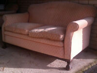 Antique 2 seater sofa