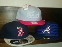 Brand New Tagged and Genuine New Era Caps