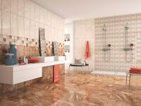10m² Kalos Marron Marble Effect Floor Tiles 33x33cm (Delivery included)