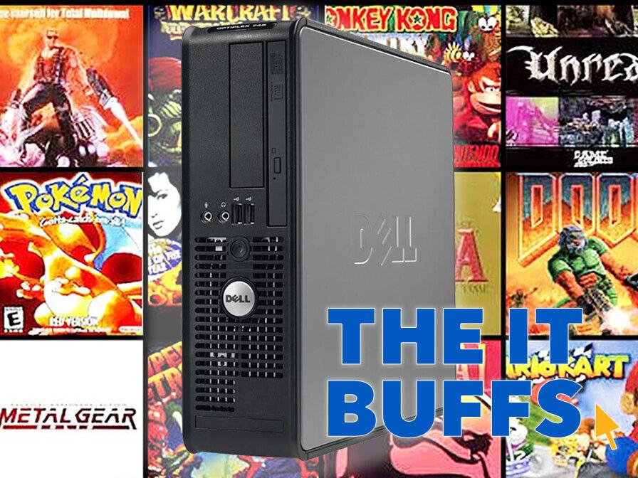 Computer Games - Retro Gaming Core2Duo 4GB RAM 250GB HDD Windows XP 512MB GFX Desktop Computer PC