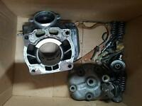 Kx 125 engine parts or repair