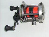 ABU 6500 (level wind),, ABU 6000black,, ABU 6000silver fishing reels