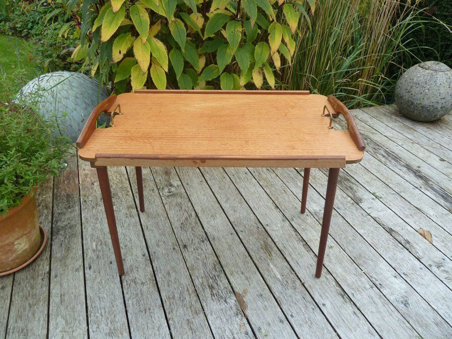 MId Century 1950's Teak Folding Table by Aase Mobler , Norway