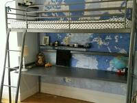 High sleeper loft bed