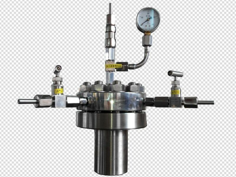 High pressure Hydrothermal Autoclave Reactor 500ml 380℃ 22Mpa customizable t