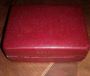 vintage tudor rolex box and watches