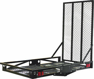 "Wanted 51"" x 30"" inch steel hitch cargo carrier with ramp Kitchener / Waterloo Kitchener Area image 1"