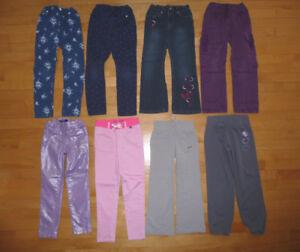 Pantalons, robes, pyjama, chandails, t-shirts 6 ans etc