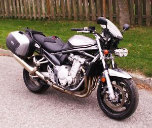 Motocyclette Suzuki Bandit 1250 (GSF1250 SA) 2008 avec  ABS