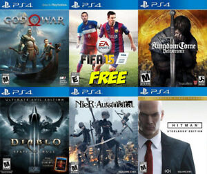 Selling/Trading PS4 God Of War, Kingdom, Diablo, more +FREE GAME