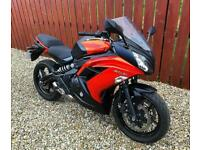 KAWASAKI ER-6F - ER 650 - JUST 9,000 + ABSOLUTELY IMMACULATE CONDITION - PX