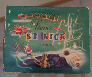 First Edition Vintage Children's Christmas Book