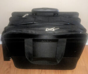 Targus laptop/ tool case on wheels.