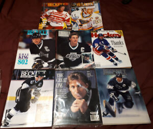Collectible Hockey Monthly Magazines